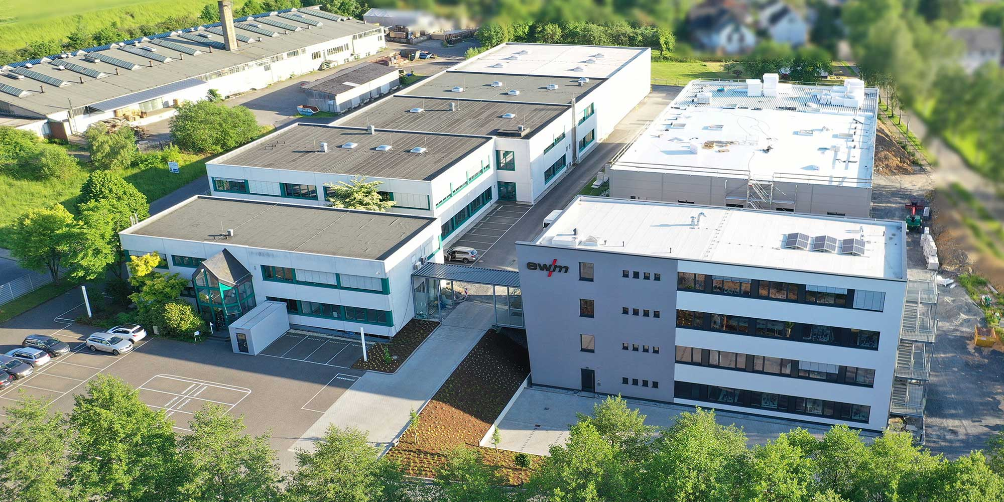 EWM AG expanded its headquarters in the Westerwald with two new buildings