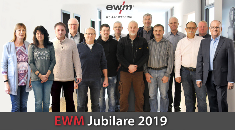 EWM honours long-serving employees