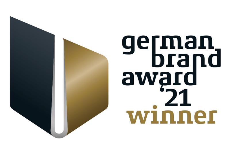 Wir sind Preisträger des German Brand Awards 2021!