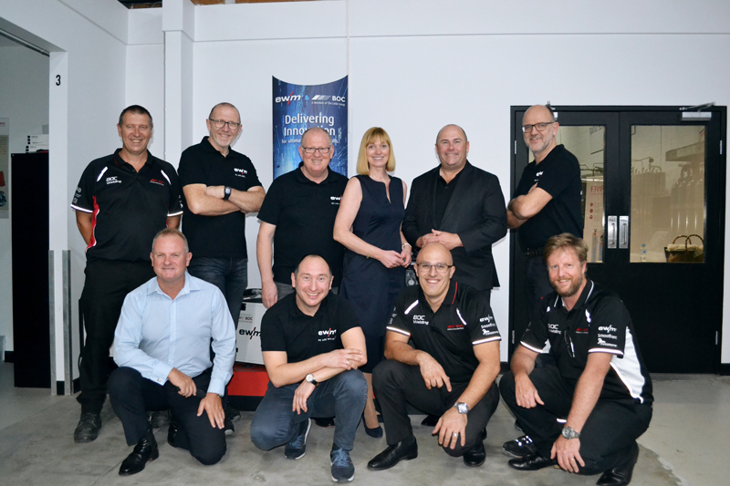 Welding technology manufacturer collaborates with member of the Linde Group