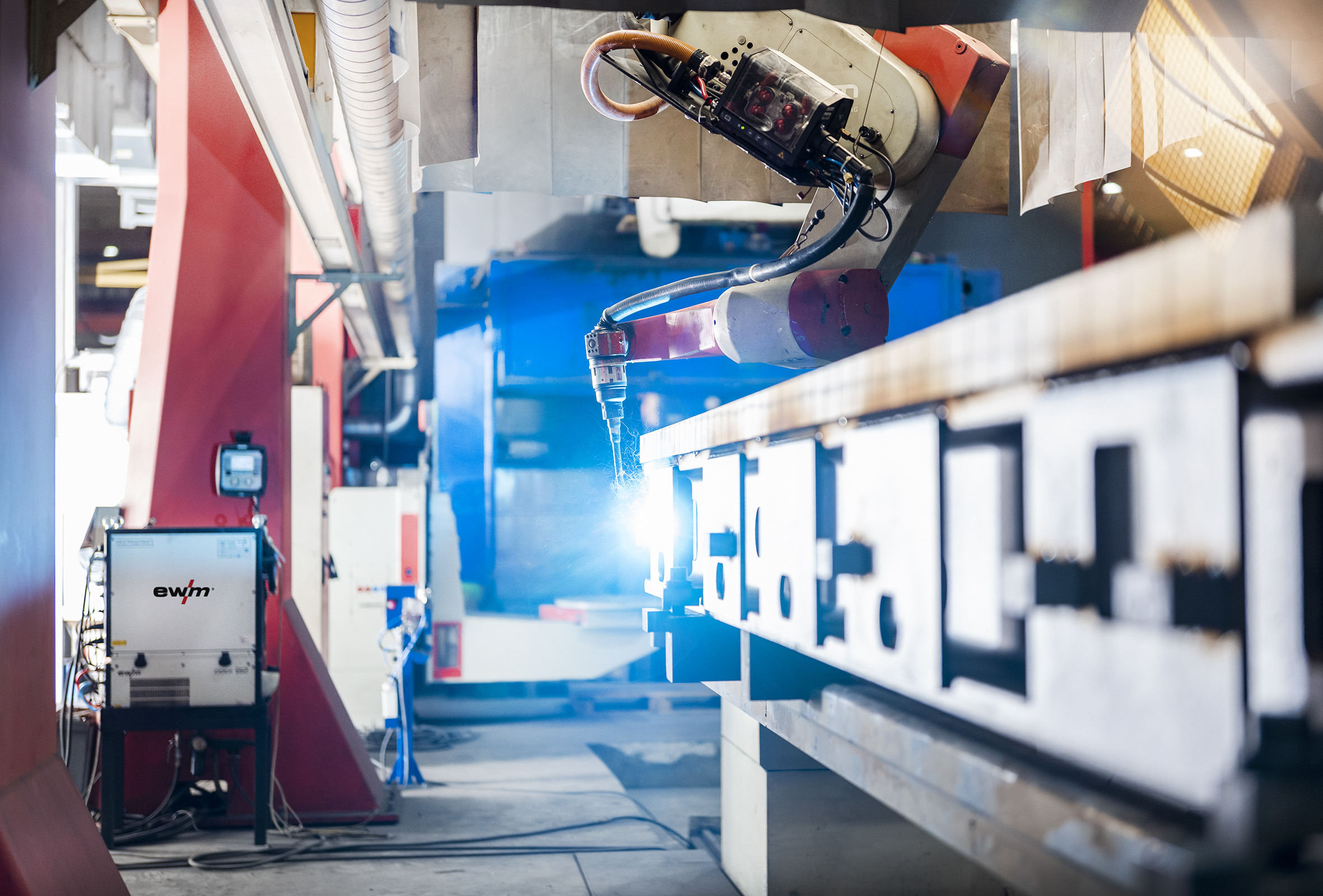 ISW Steel Components relies on EWM welding equipment
